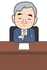 解説する弁護士のイメージイラスト