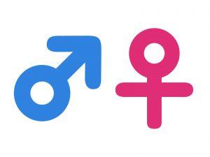 性別のイメージイラスト