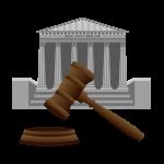 裁判所のイラスト